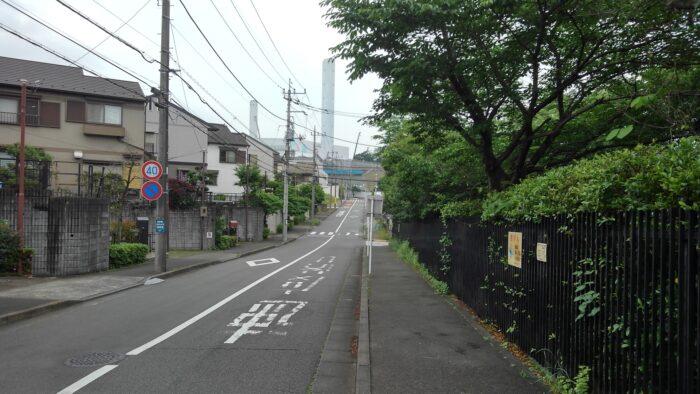 町田温浴施設_住宅街